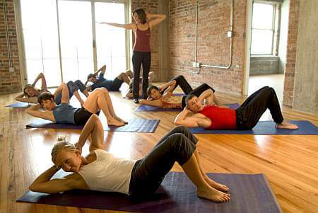 Pilates Mat Classes for every level