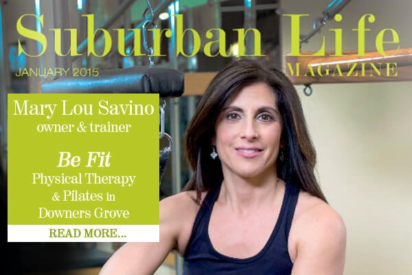 Mary Lou Savino Owner of Be Fit Physical Therapy & Pilates Downers Grove