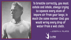 pilates philosophy on breathing